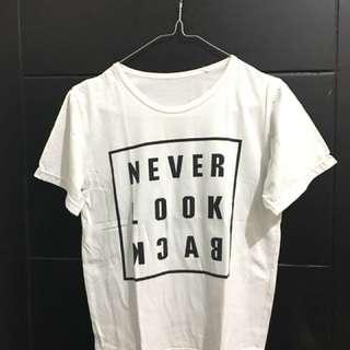 Never look back tee