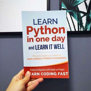 Learn Python in a one day and learn it well
