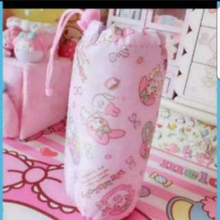 In Stock Sanrio My Melody Aluminium Bottle Cooler Bag Size is 18.5 × 7cm