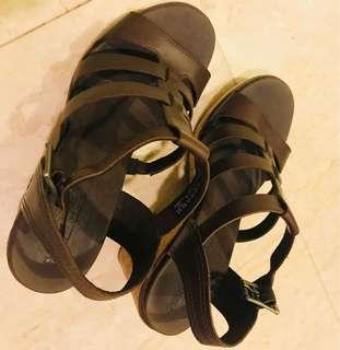 Timberland platform sandals
