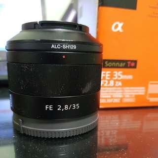 Sony FE 35mm F2.8 Sonnar