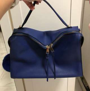 Royal Blue Bag