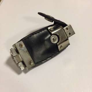 Leather designed USB 4GB