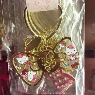 USS Hello Kitty Metal Key Chain