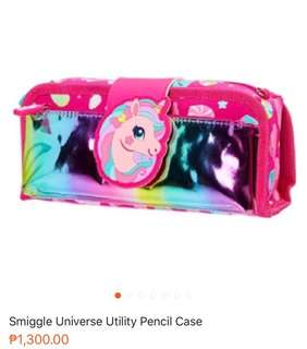 Smiggle Pencil Case foldable metallic