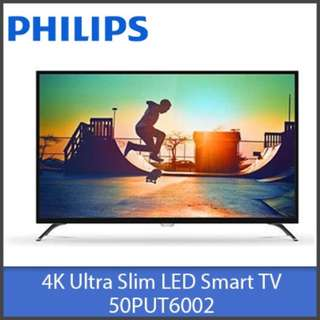 Brand New Philips 50PUT6002/98 4K Ultra Slim 50 Inch Smart LED TV
