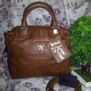 Salad Genuine Leather 2way bag