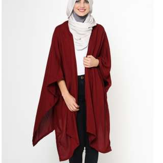 Titans Outer maroon (Outer cantik)