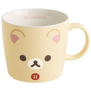 San-X 日本正版 Rilakkuma 鬆弛熊 輕鬆熊 牛奶熊 陶瓷杯 馬克杯 咖啡杯