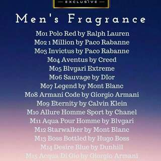 Men's & Women's Perfume