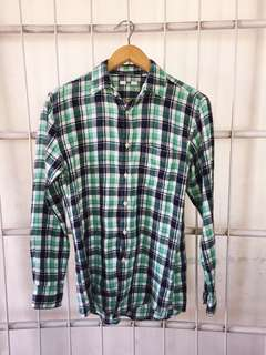 Uniqlo flannel longsleeves