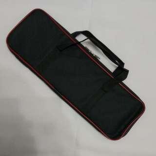 In Stock – MIS 0037N – Black Nylon Red Line Double Sai Bag
