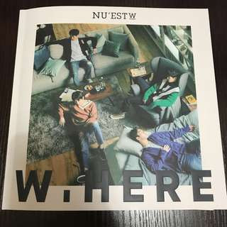 NU'EST W W,HERE Album Still Life Version