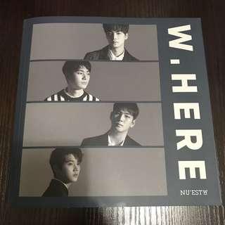 NU'EST W W,HERE Album Potrait Version
