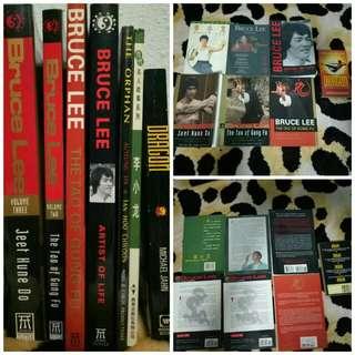 BRUCE LEE Memorabilia (Books/Noval)