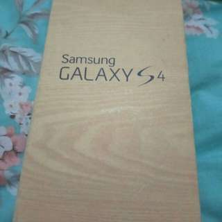 Box Samsung S4