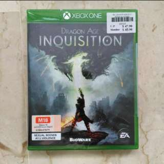DRAGON AGE INQUISITION (Brand New in Box Sealed)