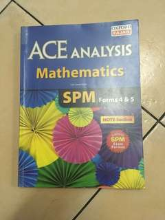 Analysis Mathematics SPM