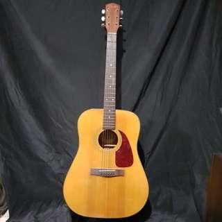 Fender guitar from year 1996 - 1998 dg -18 nat