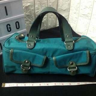 BANANA REPUBLIC BLUE GREEN BAG $112USD