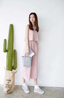 PO Mabelle 2 Piece Set (Sleeveless Top + Flare Pants)