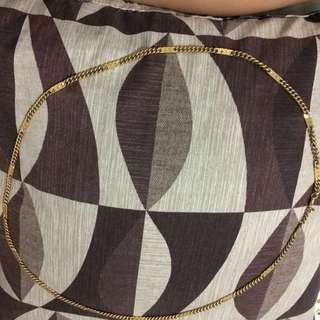 Monet gold necklace unisex