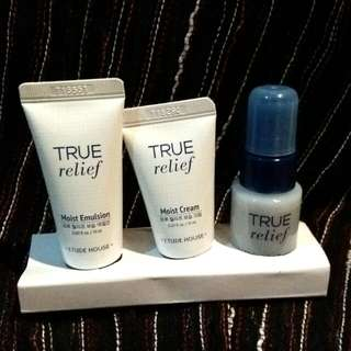 Etude House True Relief (Special Trial Kit)