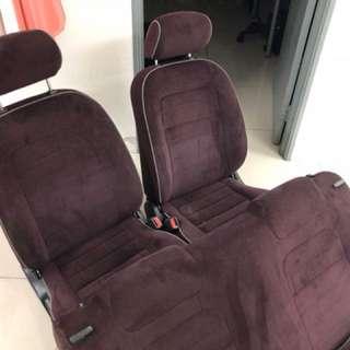 Daihatsu L7 Gino Maroon Seat For Kelisa