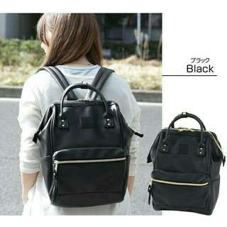 Anello Leathered Backpack