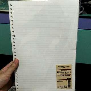 muji paper 🍥
