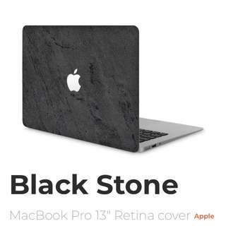 Real stone skin for macbook 13'' (model before 2016)
