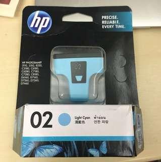 HP 淺藍色墨水