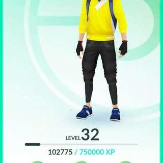 LvL32 Pokemon Go Account