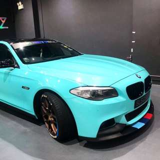 Tiffany Blue Car Wrap Service
