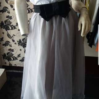 Chloe Grey tutu skirt