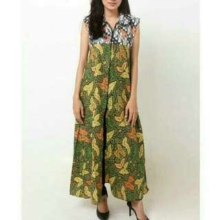 batik indonesia dress