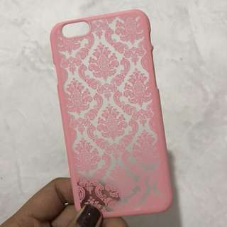 Pink Damask Iphone 6/6s Case