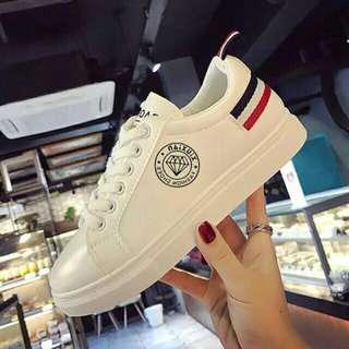 White Korean Shoes