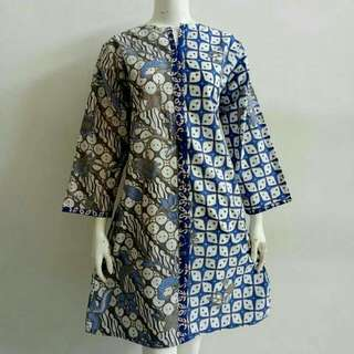 Batik Indonesia dress - cooling material