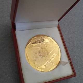 NASSA GOLDSTAR MEDALLION