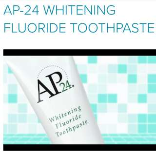 Effective whitening toothpaste