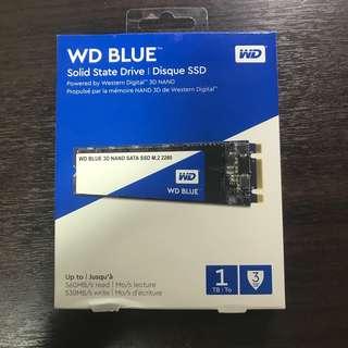 Western Digital WD Blue 1TB SSD SATA 3D NAND Solid State Drive