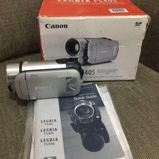 Canon camcorder legria FS405