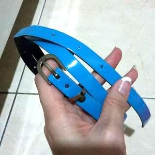Gloss SkyBlue Belt