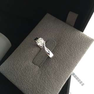Authentic Lee Hwa Destinee Diamond Ring (GIA Solitaire Ring)