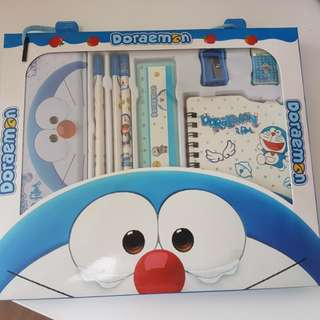 BNIB - Doraemon Stationery Set