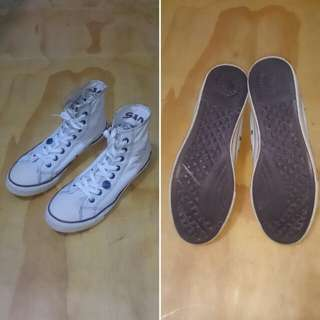 Levis Shoes Kanvas Hi Top Original