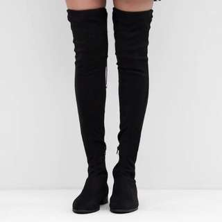 asos knee high boots
