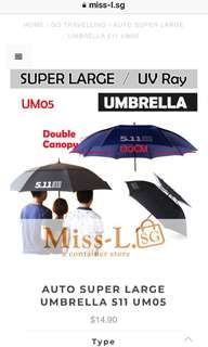 ✌️ AUTO SUPER LARGE UMBRELLA 511 UM05