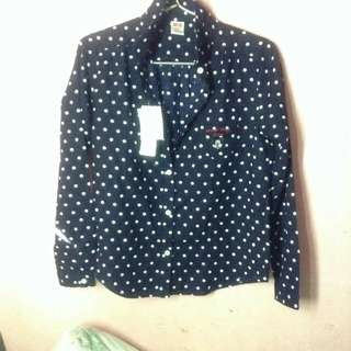 Uniqlo Minnie Mouse Long Sleeve Top